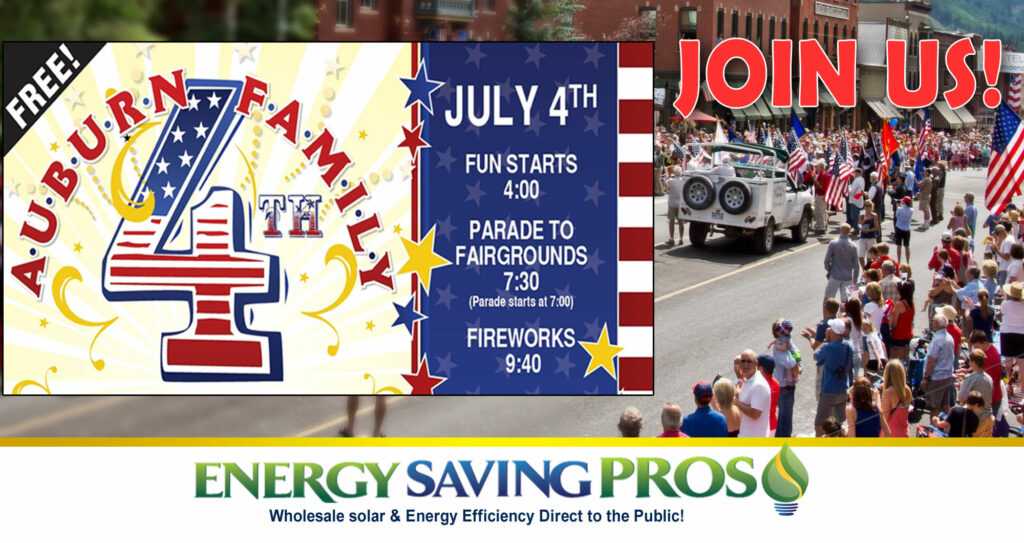 Looking for a FREE fun event this Independence Day? Join us at Auburn Family Fourth!