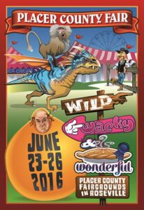 Placer County Fair poster