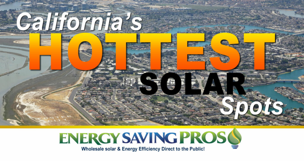 The Most Solar-Saturated Zip Codes in California